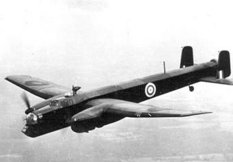 102 Sqn. RAF Armstrong Whitworth Whitley T4233DY-K