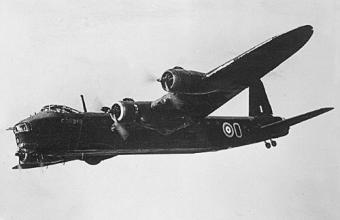 7 Sqn. RAF Short Stirling  W7630 MG-M